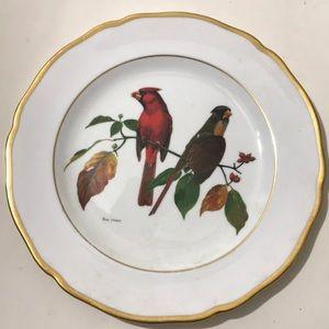 2 Spode Ray Harm American Songbird Bone China